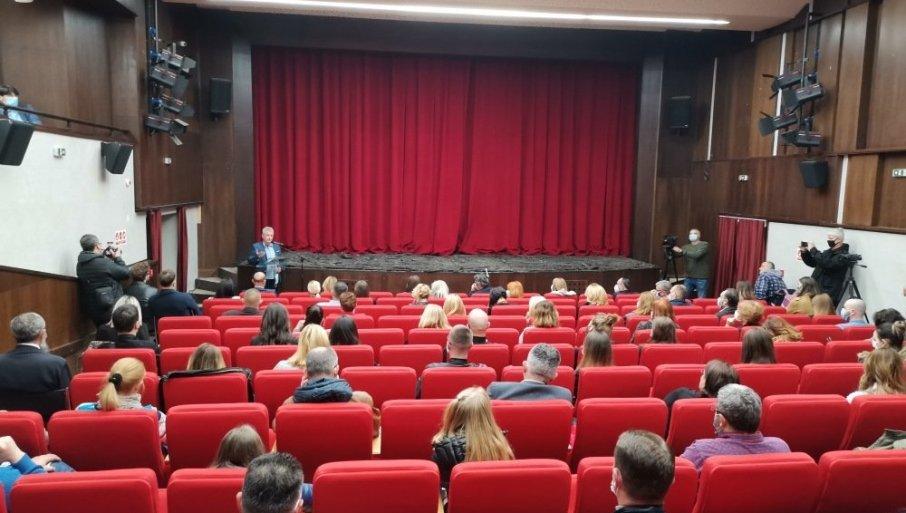 PRVA PROJEKCIJA NAKON VIŠE OD DVE DECENIJE: Bioskop na nezvanični Dan vranjskog Pozorišta