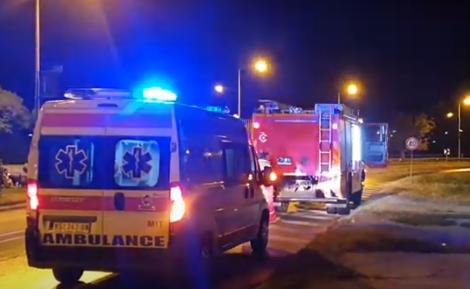 TEŽAK UDES na Ledinama: U direktnom sudaru dva vozila povređene četiri osobe