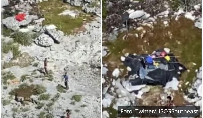 MESEC DANA PREŽIVELI NA PUSTOM OSTRVU! Obalska straža nije mogla da veruje šta vidi blizu Bahama, hranili se pacovima?! (VIDEO)