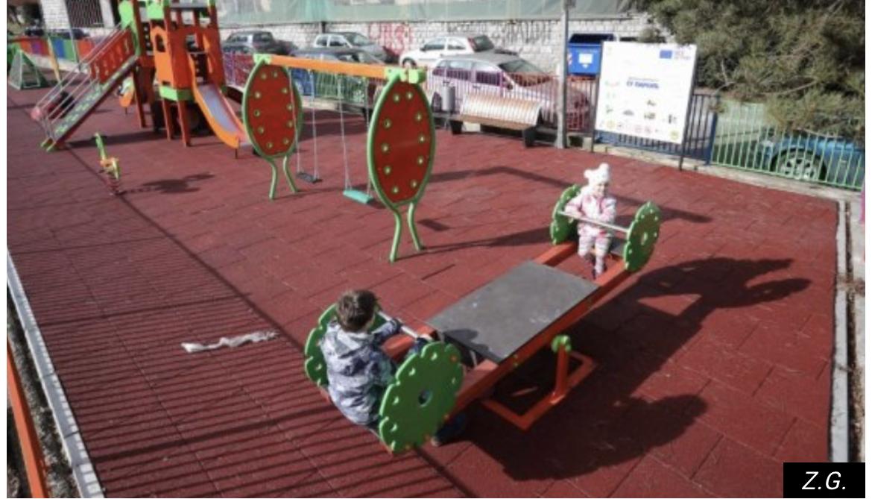 DECA SU NAJVAŽNIJA! Užice i Sevojno dobili dva igrališta za decu, vrednost donacije EU je 40.000 evra/FOTO/