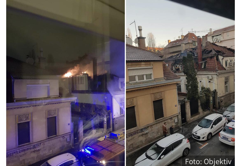 Otkriven UZROK požara na Vračaru: Noćni čuvar poznatog restorana opisao DRAMU u Molerovoj (FOTO)