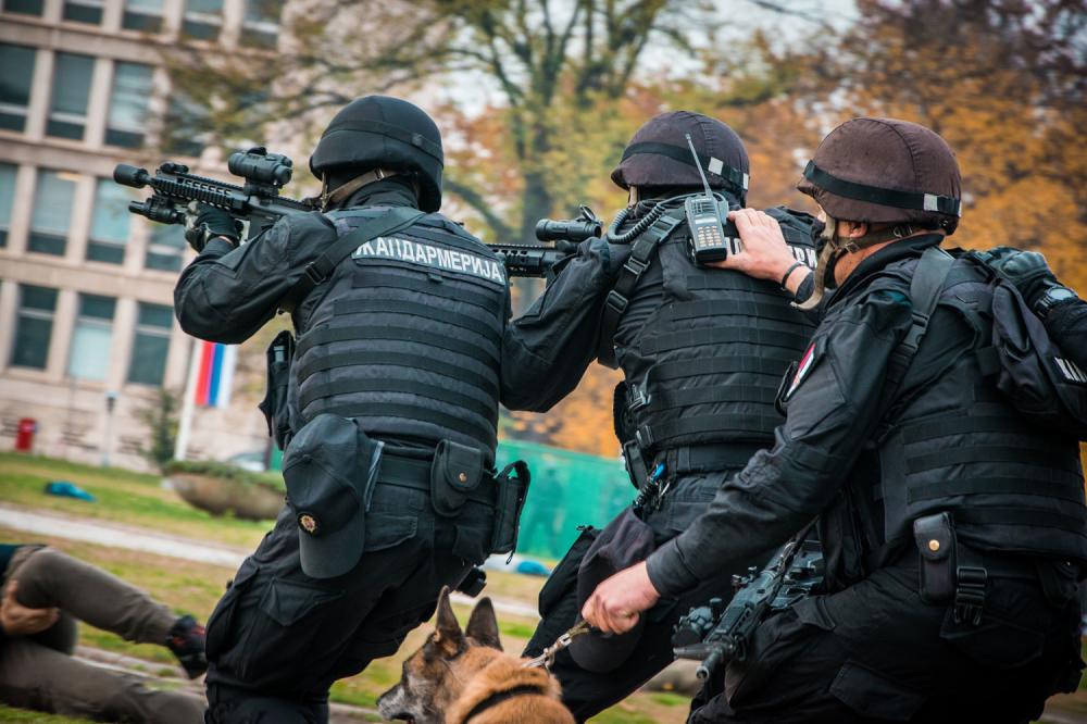 VELIKA AKCIJA POLICIJE Muškarac napravio ogromnu štetu, kod sebe imao ekspolzive i pištolj: Pretio gostima i vlasniku kafića u Mladenovcu