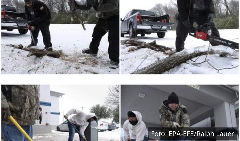 TEKSAS PRVI PUT HLADNIJI OD ALJASKE: Ova zimska oluja će ući u istoriju! (FOTO)