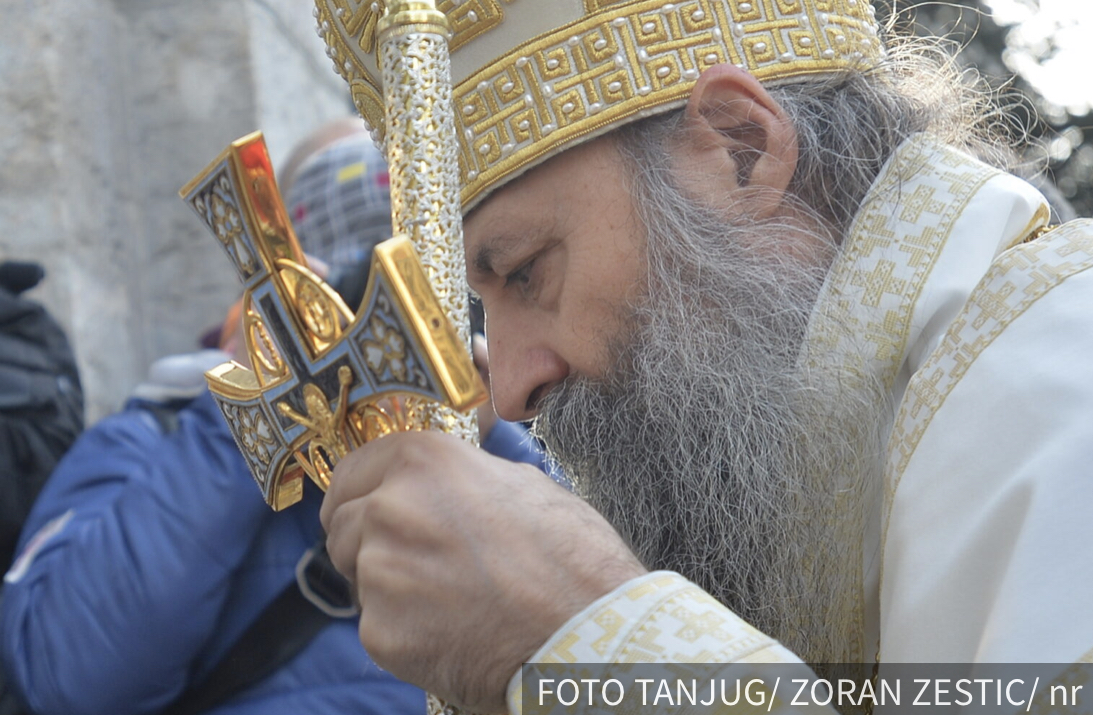 Patrijarh Porfirije danas služi prvu, Božanstvenu LITURGIJU u Hramu Svetog Save