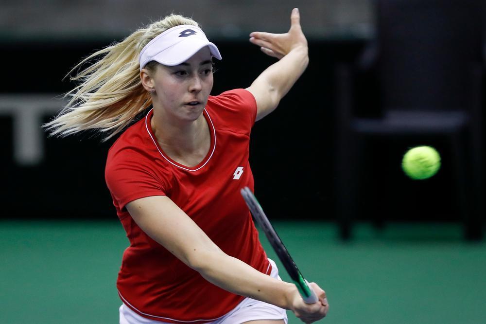 WTA TURNIR U MELBURNU: Nina Stojanović bez četvrtfinala dubla