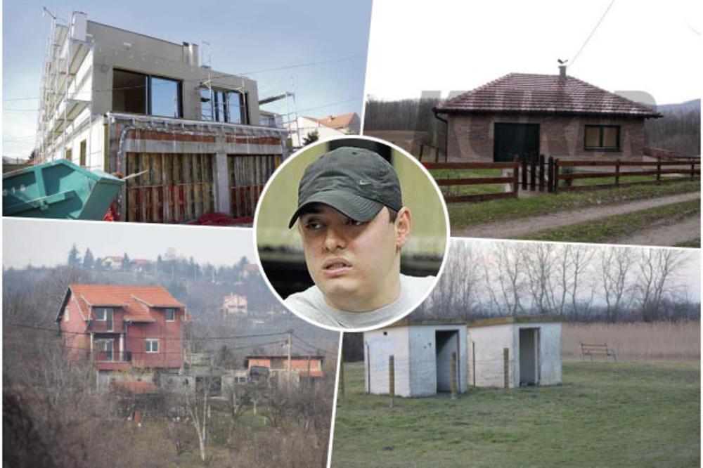 SVE LOKACIJE NA KOJIMA JE VELJA NEVOLJA IMAO BAZE: Reketirao po Pančevu, mučio u zabačenim štekovima, a u Beogradu gradio vilu