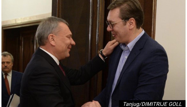 Vučić danas sa potpredsednikom Vlade Rusije Borisovom