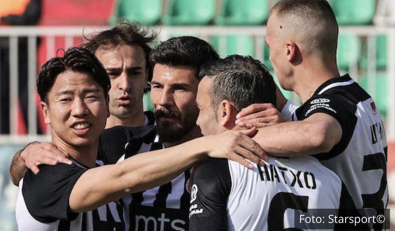 PARTIZAN PROTUTNJAO SREMOM: Crno-beli sa 6 golova RAZNELI Inđiju i upisali 12. trijumf u nizu! (VIDEO)