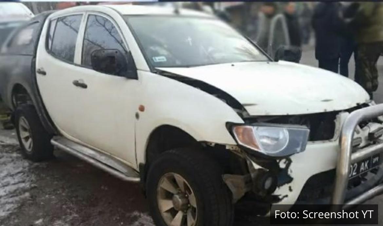 TEROR U DONJECKU: Eksplodirao automobil u centru, ranjen visoki oficir Narodne milicije i njegova ćerka! (VIDEO)
