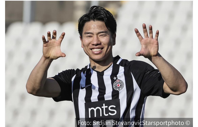 Asano među najboljima: Fudbaler Partizana u konkurenciji za laskavu nagradu!
