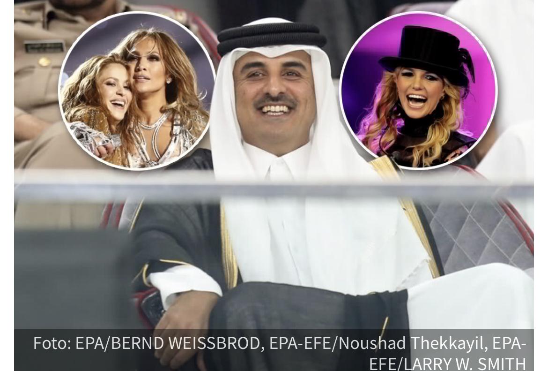 Emir Katara daje 10 miliona dolara za nastup Britni, Dženifer i Šakire, ali naišao je na JEDAN problem