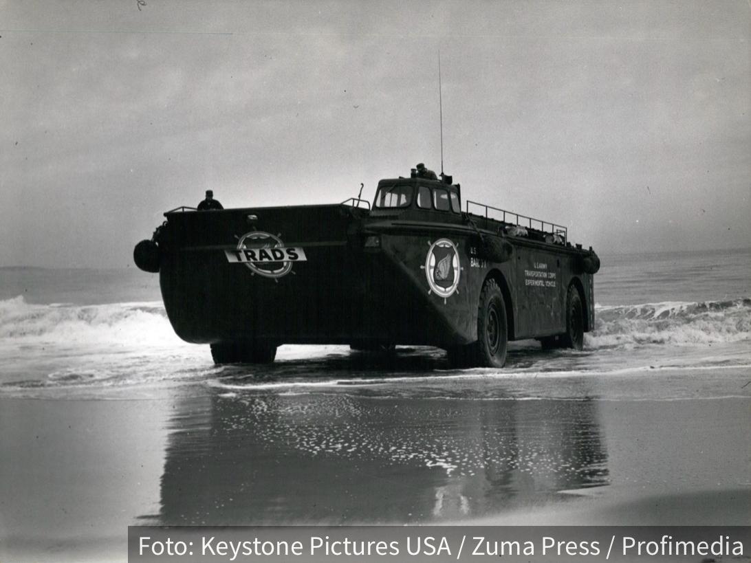 Amfibija BARC ispisala istoriju: Vojno čudo iz 1950-ih prevozilo je 200 vojnika (VIDEO)