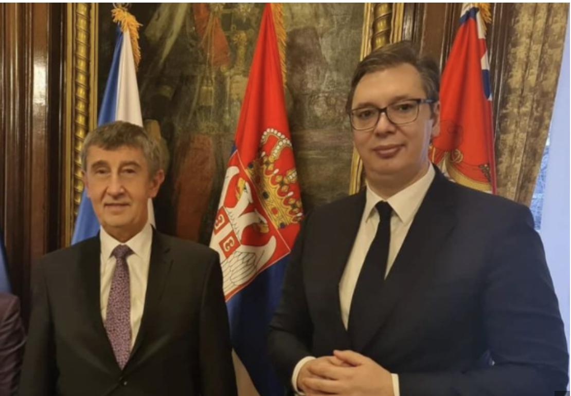 Vučić sa Babišom: Predsednik se sastao sa češkim premijerom (FOTO)