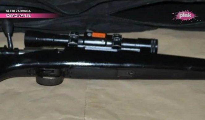 OVO JE SNAJPER VELJE NEVOLJE KOJI JE PRONAĐEN NA STADIONU PARTIZANA! Policija pronašla oružje u bunkeru! /FOTO/
