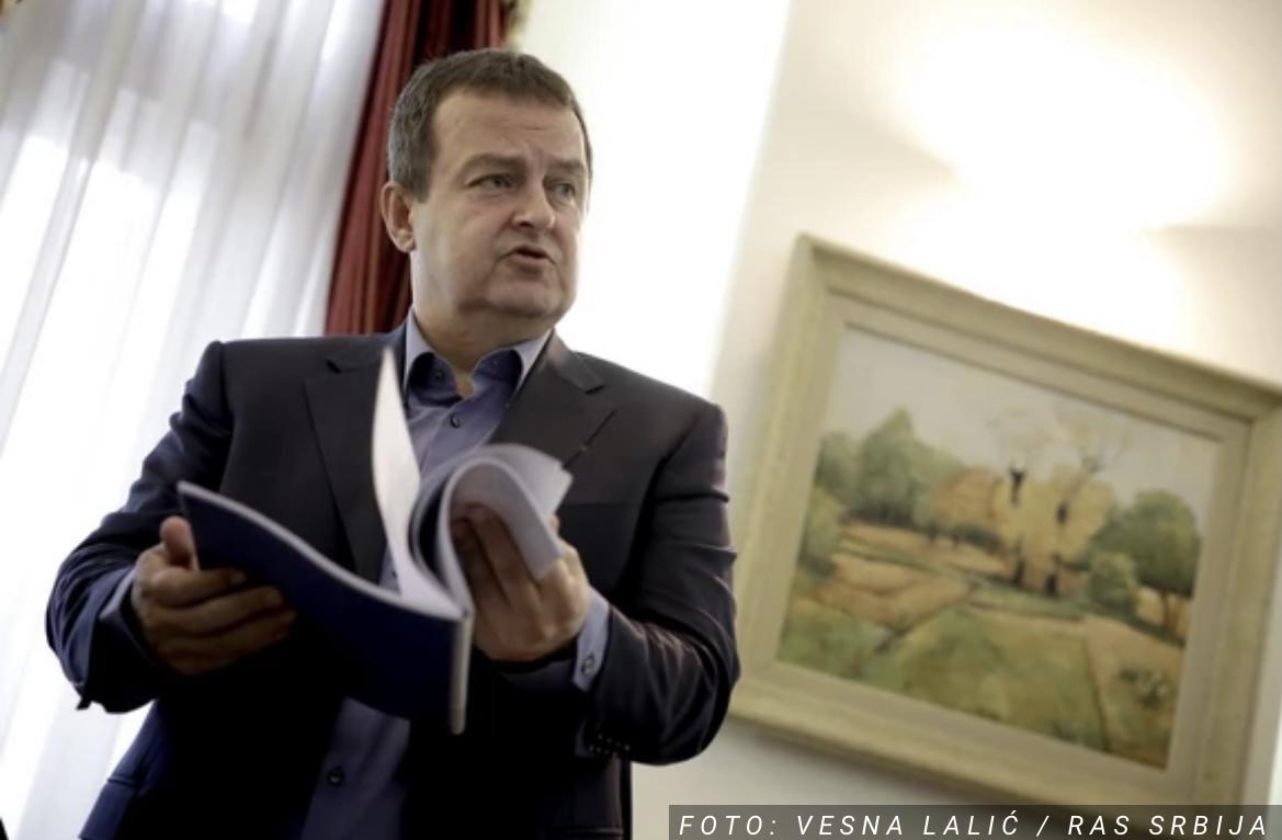 Dačić: Očekujem teške pritiske oko Kosova