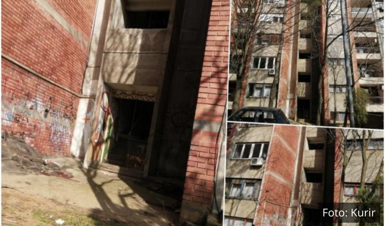 PRVE SLIKE S MESTA TRAGEDIJE NA VIDIKOVCU: Devojka pala s požarnih stepenica, telo pronašle komšije (FOTO)