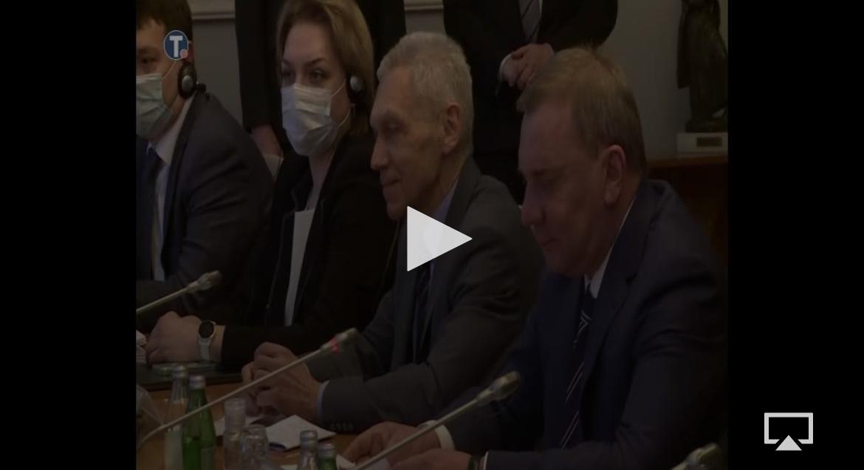 PREDSEDNIK VUČIĆ SE SASTAO SA BORISOVIM: Ruski potpredsednik Vlade prethodno imao sastanak sa Anom Brnabić (FOTO)
