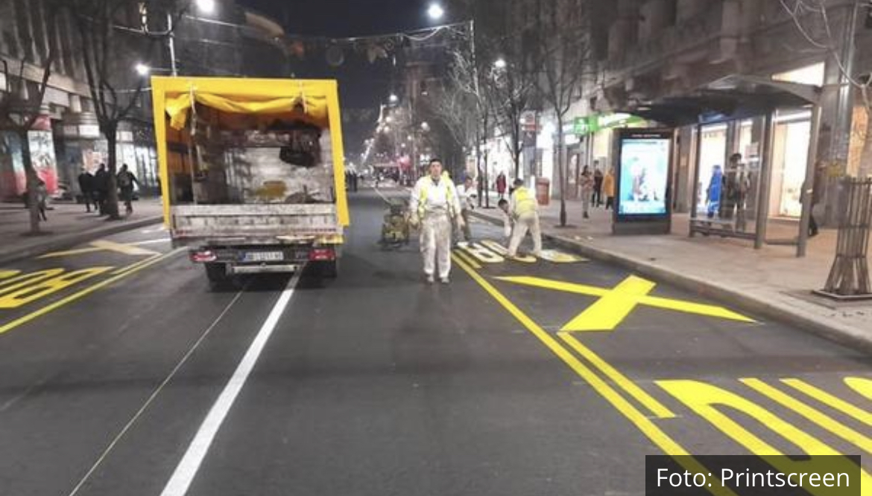 PONOVO RADI ULICA KRALJA MILANA: Popravka se završava, večeras u 22 sata pušta se saobraćaj