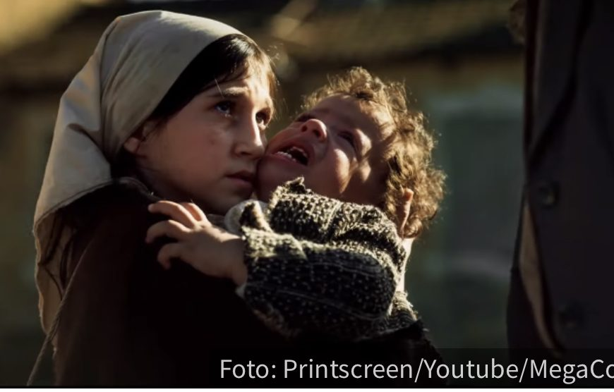 NE OSTAVLJA TEBE SEKA! Jedna od najtežih scena: Dara sa bratom beži iz Jasenovca dok na njih pucaju!