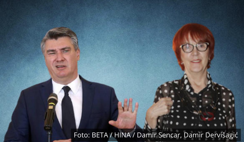 POGODILA GA U ŽIVAC: Milanović odgovorio Vedrani Rudan: Polupismeno, vulgarno piskaralo! UBRZO JE ZAŽALIO ŠTO SE UOPŠTE OGLASIO