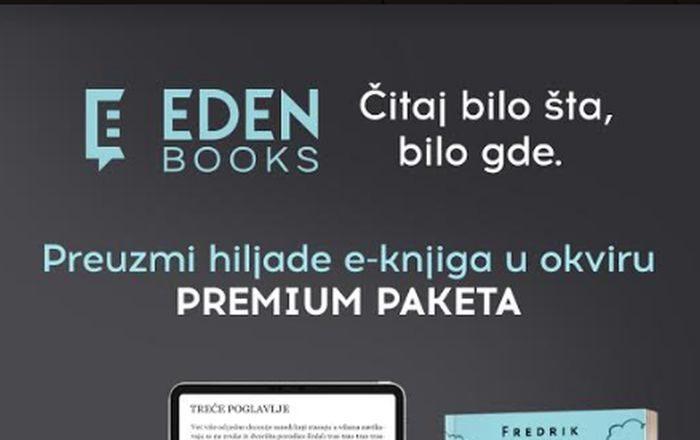Jedinstvena aplikacija za čitanje elektronskih knjiga – eDen Books