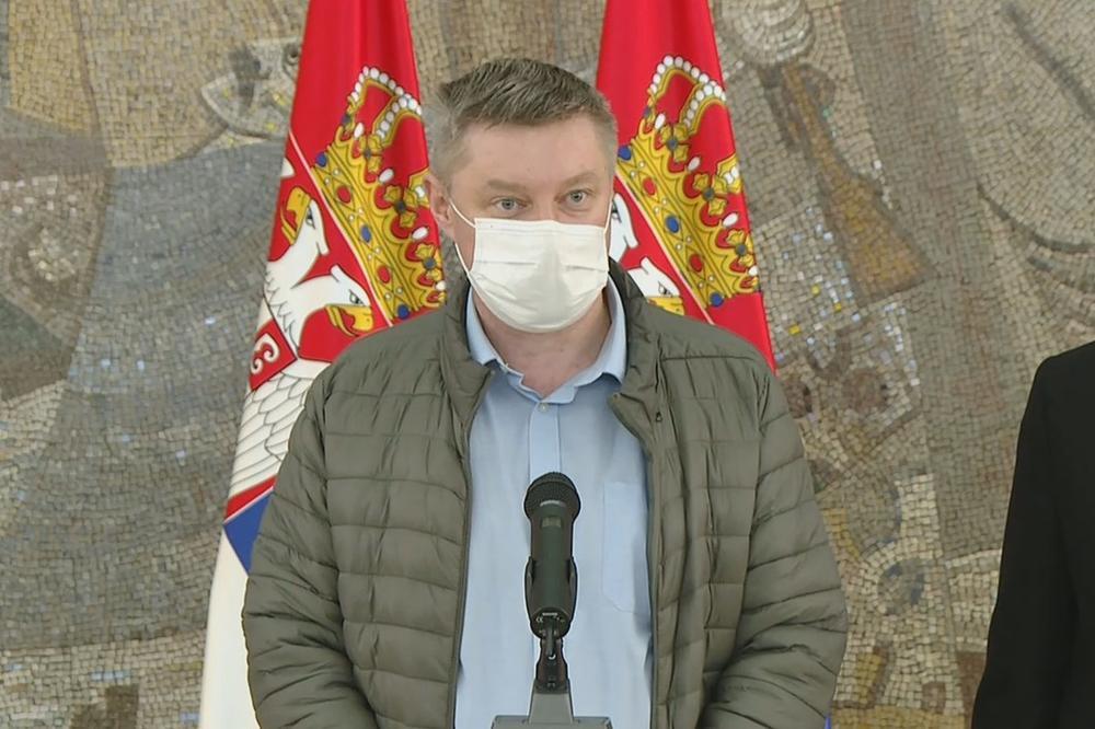 """Doktor Stevanović saopštio LEPE VESTI: KBC """"Bežanijska kosa"""" izlazi iz kovid sistema"""