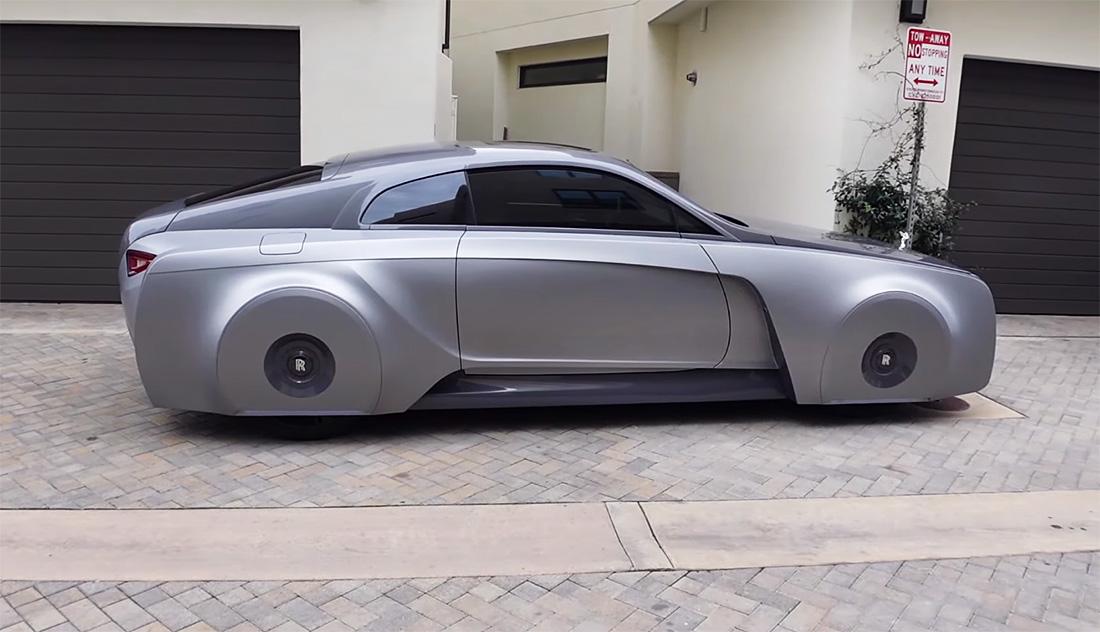 "Rolls-Royce Džastina Bibera ""lebdi"" u vazduhu (VIDEO)"