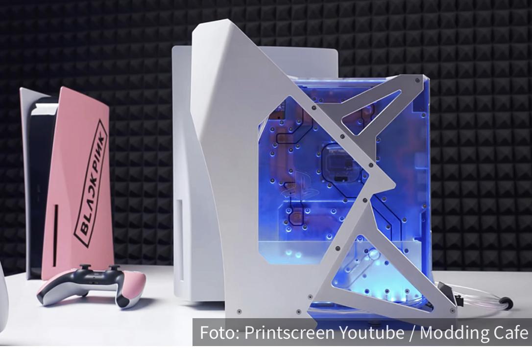 Svemirski dizajn i vodeno hlađenje: Ovakav Playstation 5 još niste videli (VIDEO)