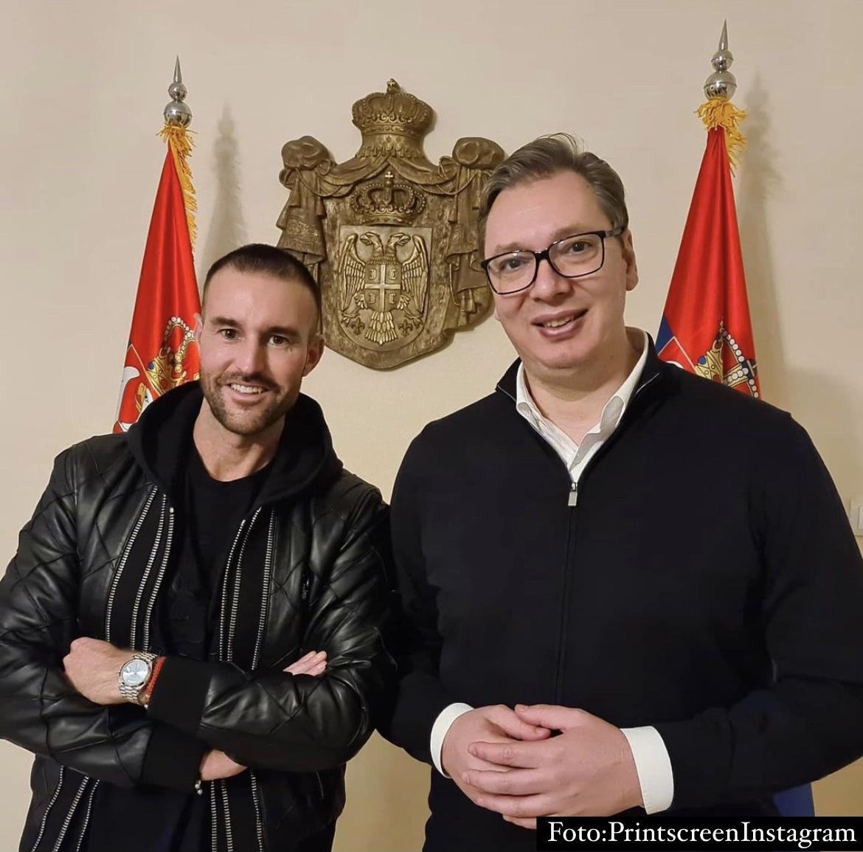 VUČIĆ UGOSTIO NAJVEĆEG KREATORA NA SVETU! Filip Plein poručio u Predsedništvu Srbije: Uzbuđen sam jer POČINJEM POSAO U SRBIJI!