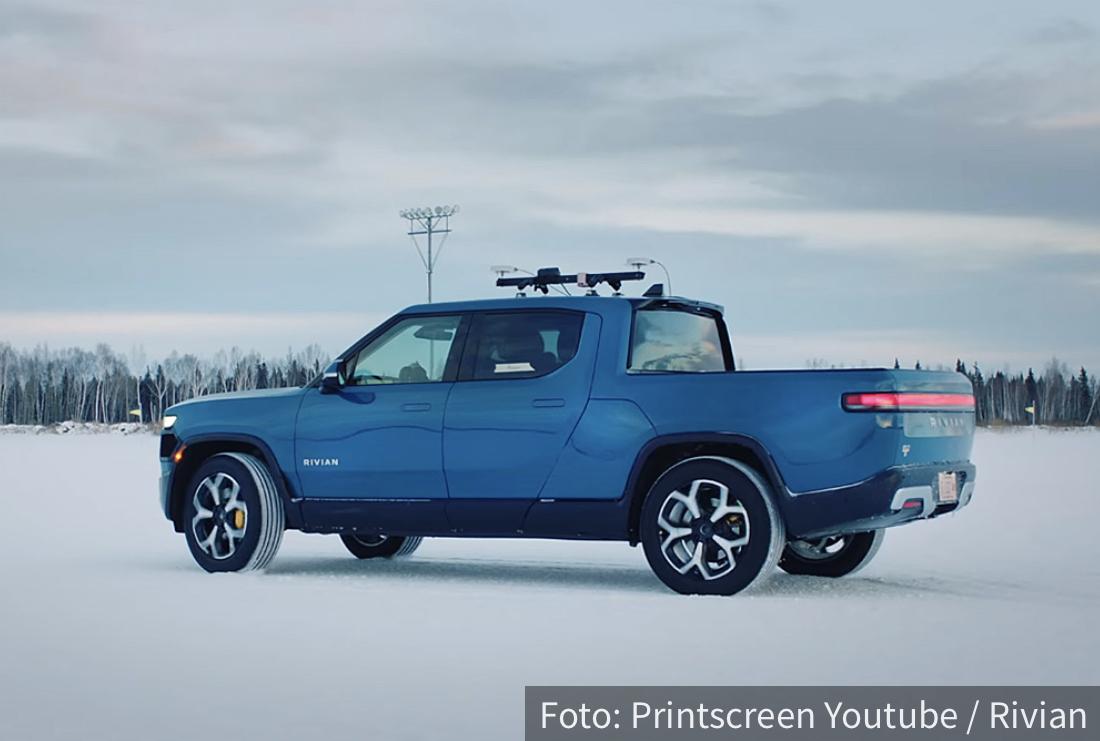 Rivian R1T u ledenom bespuću: Surovo testiranje e-kamioneta (VIDEO)