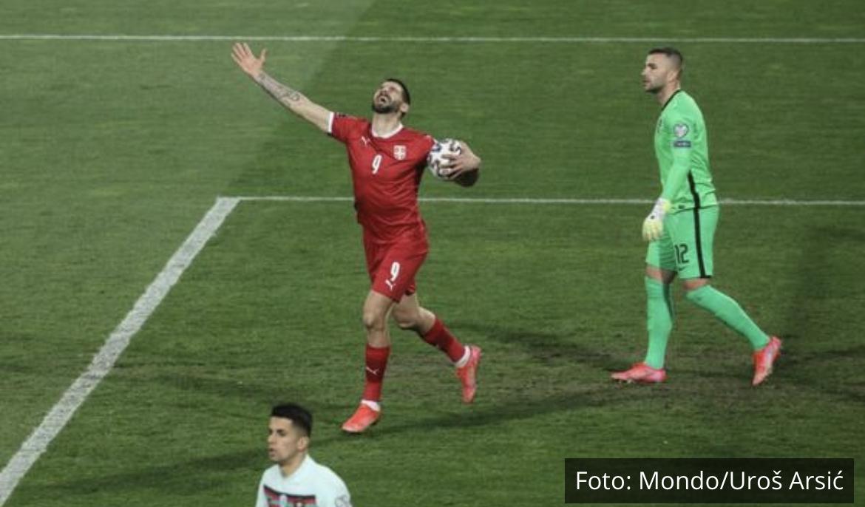 ALEKSANDAR MITROVIĆ POSTAO APSOLUTNI REKORDER: Pogledajte gol kojim je Srbija smanjila prednost Portugala VIDEO