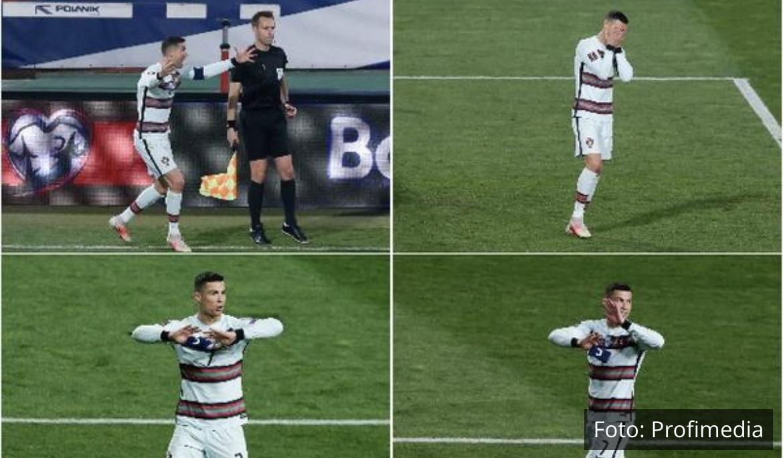 GORI INTERNET Ceo svet bruji o Ronaldovoj HISTERIJI u Beogradu (VIDEO, FOTO)
