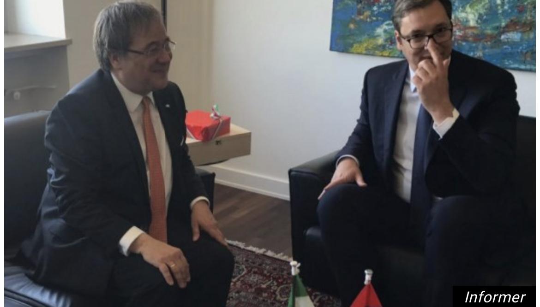 Predsednik Vučić čestitao novoizabranom predsedniku najjače nemačke partije! Dobri i prijateljski odnosi sa Nemačkom, za Srbiju su od izuzetnog značaja