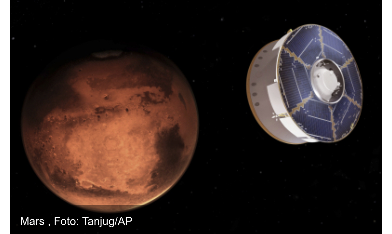 NASA OBJAVILA SNIMAK! Helikopter poleteo na Marsu! (VIDEO)
