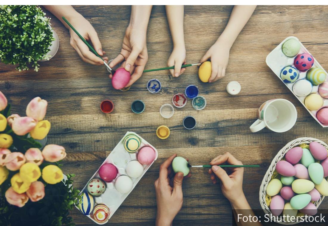 Najlepša uskršnja jaja – 10 ideja za farbanje