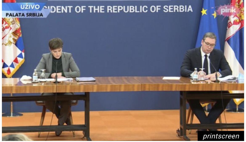 Vučić i Brnabić sa predstavnicima zdravstvenih insitutucija