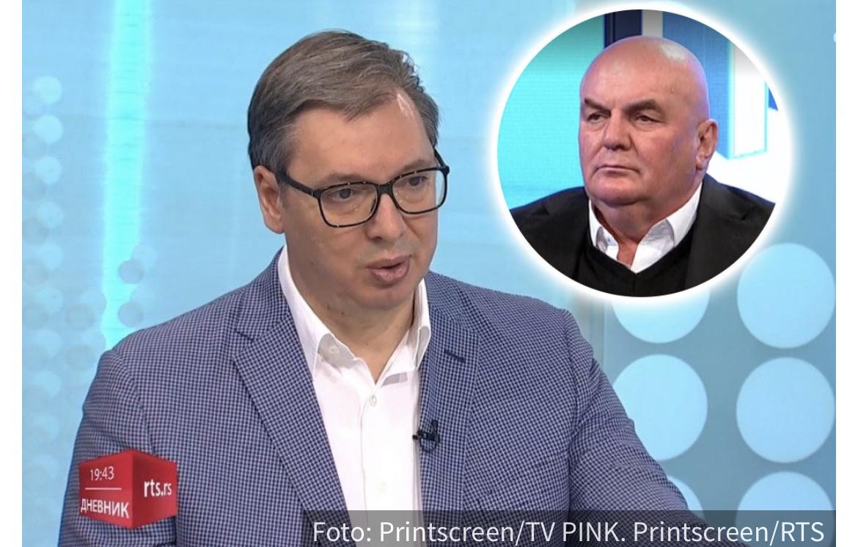 """""""Ako je istina, jezivo, a ako je laž još je jezivije"""": Vučić o optužbama na račun Dragana Markovića Palme"""