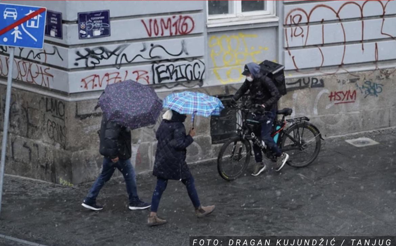 APRILSKI SNEG U BEOGRADU Provejava, a evo da li će se zadržati i kada je prestonica bila zavejana U MAJU (FOTO, VIDEO)