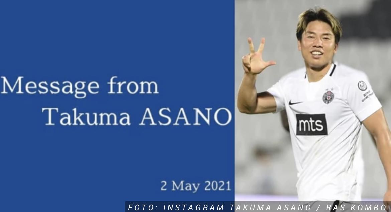 Takuma Asano OTKRIO SVE DETALJE ODLASKA iz Partizana na Vaskrs! Japanac šokirao čitavu Srbiju, a imao je POSEBNU poruku za crno-bele!