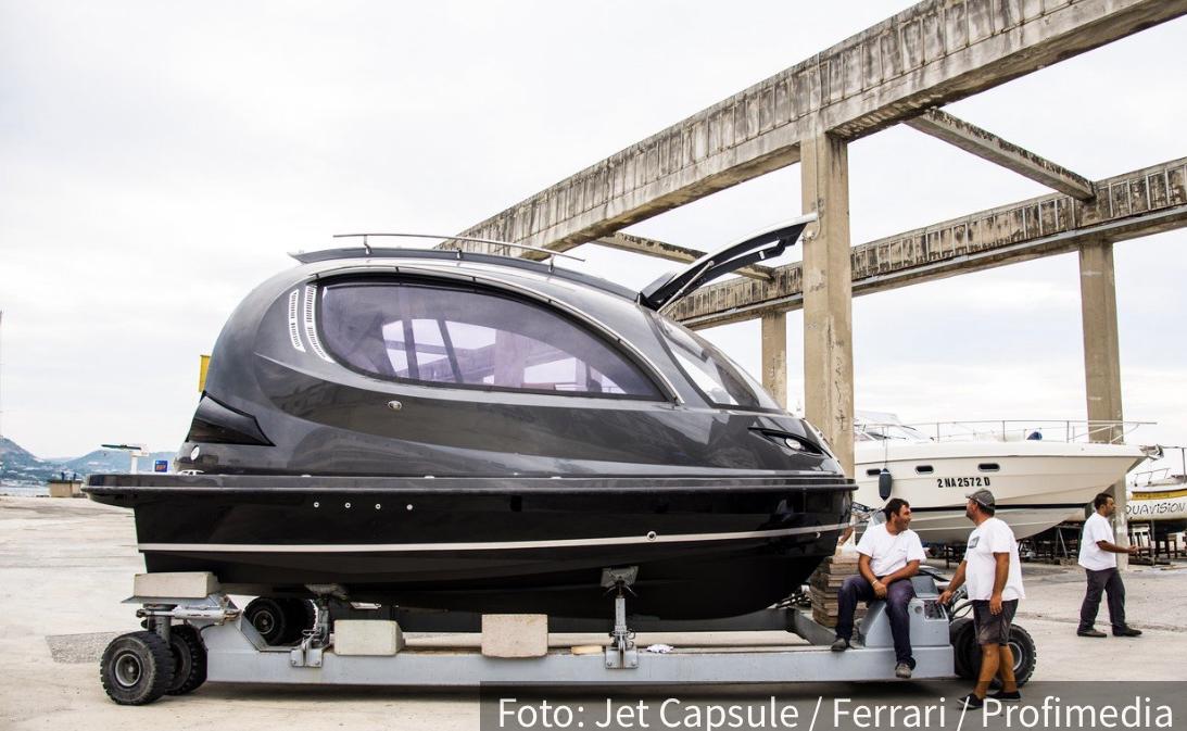 Svemirski brod na vodi: Lazarinijevo čedo košta milion dolara (VIDEO)