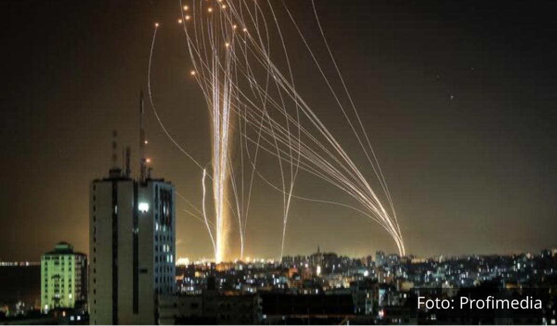 HAMAS PRETI DA ĆE UNIŠTITI TEL AVIV: Prvi snimci razorenih objekata u gradu, Gvozdena kupola presreće na desetine raketa! VIDEO