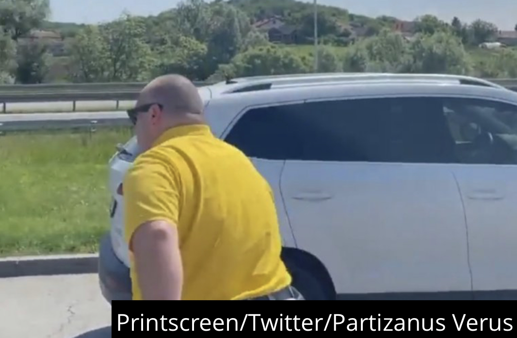 VIDEO) ŽIVOT PUN SKANDALA, BEŽIM OD ŽANDARA: Vuletić nastavlja sa provokacijama, BRUTALNO ISMEVAO DRŽAVU!