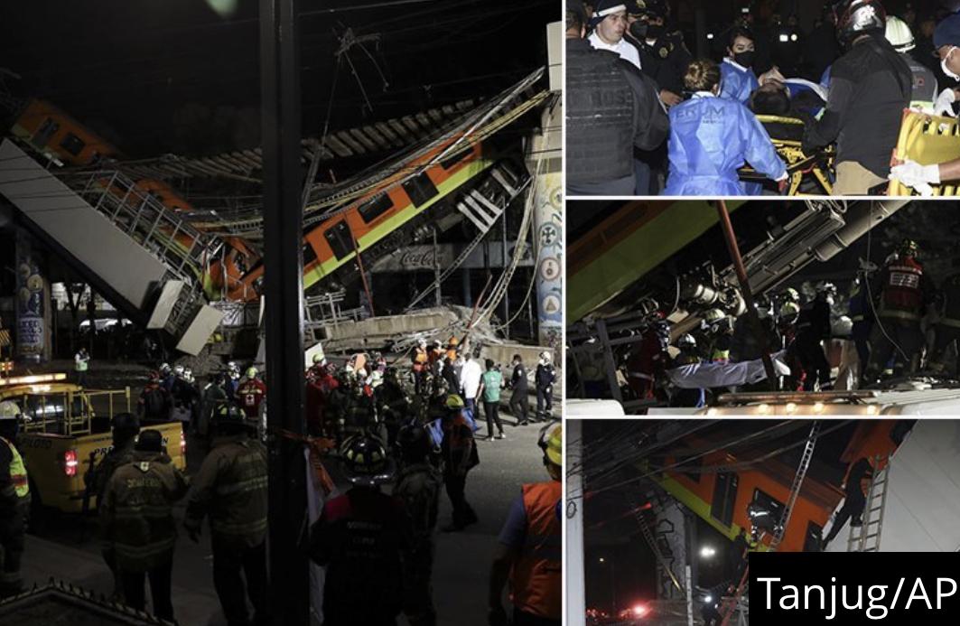 SCENE KAO IZ PAKLA, METRO SE PREPOLOVIO! Prignječeni ljudi vrištali i dozivali u pomoć, NAJMANJE 23 MRTVIH, pukotina na mostu prijavljena još 2017.
