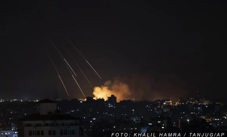 11. DAN NASILJA I dalje ništa od prekida vatre: Nastavljeni vazdušni udari na Gazu, sirene se oglašavale i u izraelskim gradovima