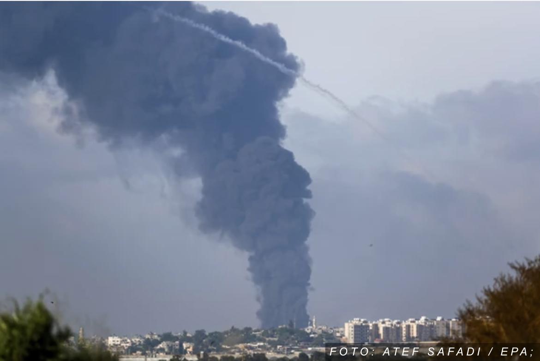 Izraelska avijacija jutros uništila 15 kilometara tunela Hamasa