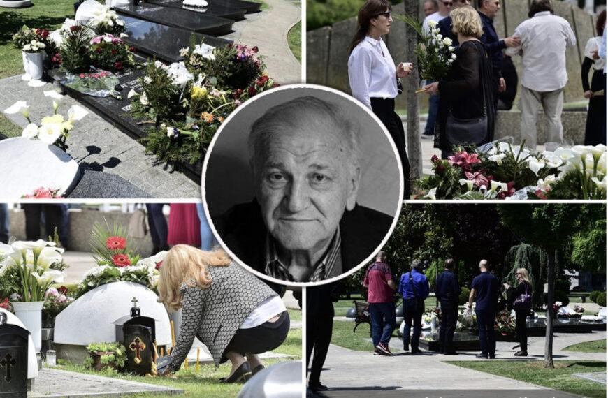 Poslednji POMEN Bati Živojinoviću u Aleji velikana: 5 godina od smrti glumca, stigao i sin Miljko (FOTO)