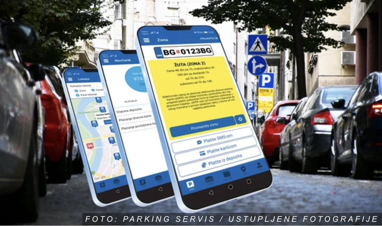 """Još 8.000 novih korisnika aplikacije """"Parking servisa"""""""