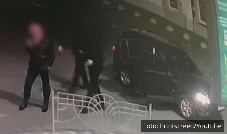 OVO JE SNIMAK OTMICE SRPSKOG BIZNISMENA U UKRAJNI: Otmičari izašli iz auta dok je on stajao na ulici! Nije uspeo da se otrgne