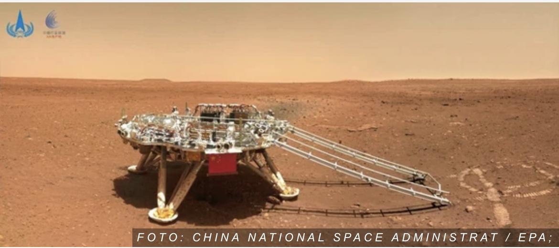 SELFI S MARSA Rover Džužong napravio poslao seriju fotografija