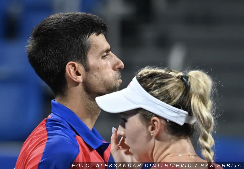 GLAVE GORE, MAJSTORI! Novak Đoković i Nina Stojanović namučili favorite, ali – igraće za bronzu!